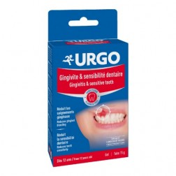 Urgo Gingivitis y Sensibilidad dental gel 15 g