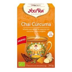 Yogi Tea Chai Curcuma 17 bolsitas infusion