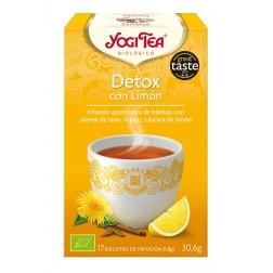 Yogi Tea Detox con Limon 17 bolsitas infusion