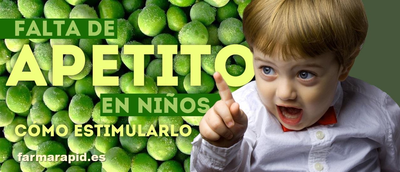 Falta de apetito en niños: cómo estimularlo