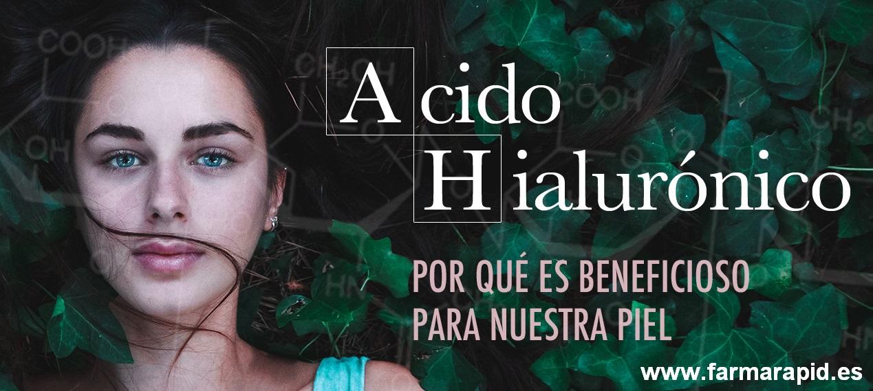 ¿Qué es el ácido hialurónico y por qué es beneficioso para nuestra piel?