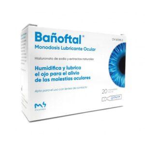 Bañoftal Baño Ocular 20 Monodosis de 0.4ml